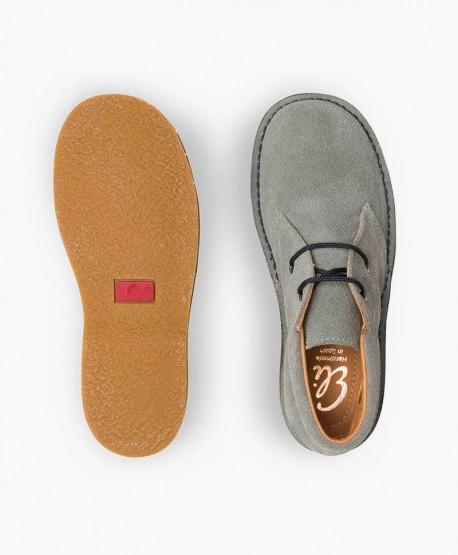 Zapatos ELI. Pisacacas Botines Safari Gris de Piel 3 en Kolekole
