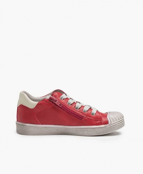 Zapatos Sneakers Casual BEPPI Rojos Niña y Niño 3 en Kolekole