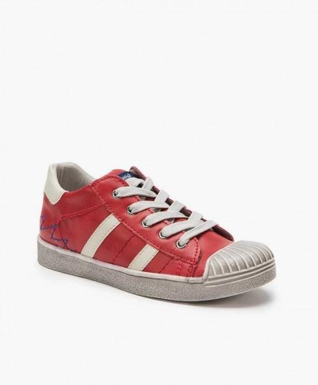 Zapatos Sneakers Casual BEPPI Rojos Niña y Niño 2 en Kolekole