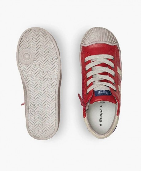 Zapatos Sneakers Casual BEPPI Rojos Niña y Niño 0 en Kolekole
