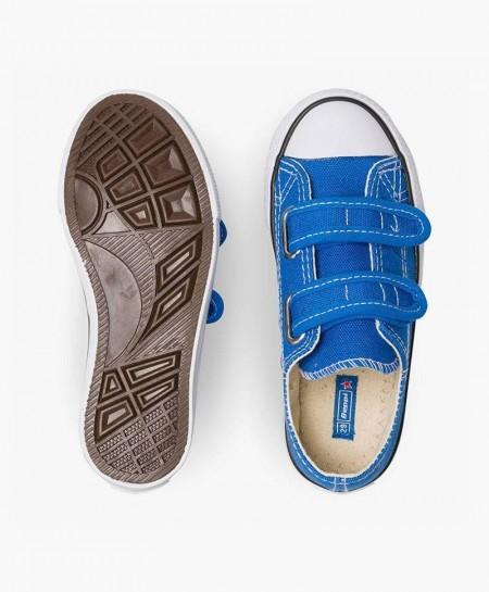Zapatillas de Lona BEPPI Azul Niña y Niño