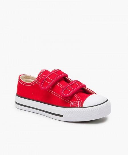 Zapatillas de Lona BEPPI Rojas para Niños