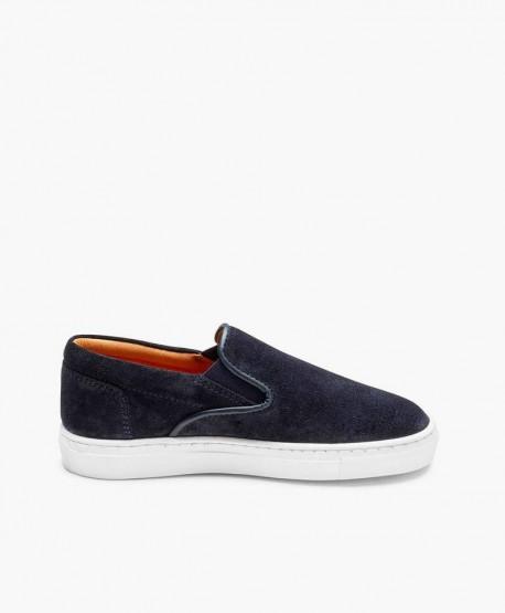 Zapatos Sport ATLANTA MOCASSIN Azul Marino para Niño 2 en Kolekole