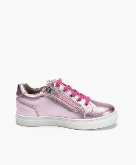 Sneakers TELYOH Rosa de Piel para Niña 3 en Kolekole