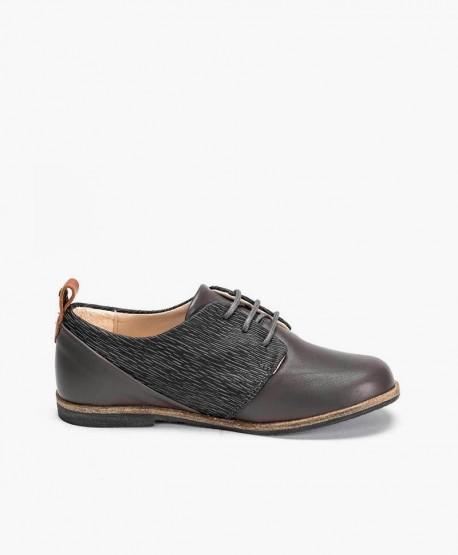 Zapatos Blucher MANUELA DE JUAN Gris para Niño 3 en Kolekole