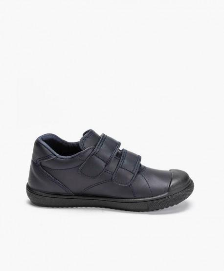 Zapatos Colegiales PETALOUS Piel Olor Miel Niña y Niño 3 en Kolekole