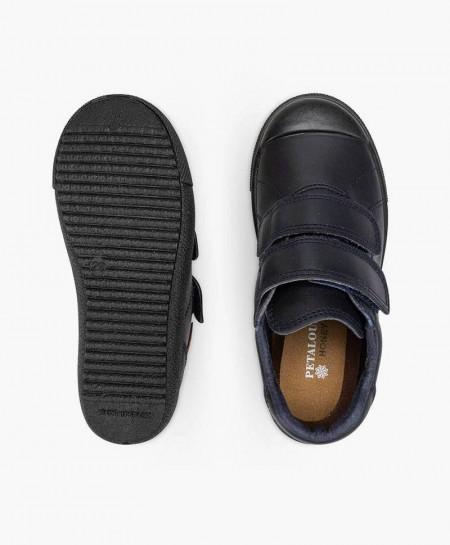 Zapatos Colegiales PETALOUS Piel Olor Miel Niña y Niño 0 en Kolekole