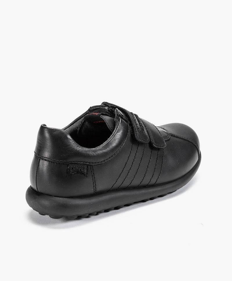 Camper Pelotas Zapato Piel Niño Negro cFKl31TJ