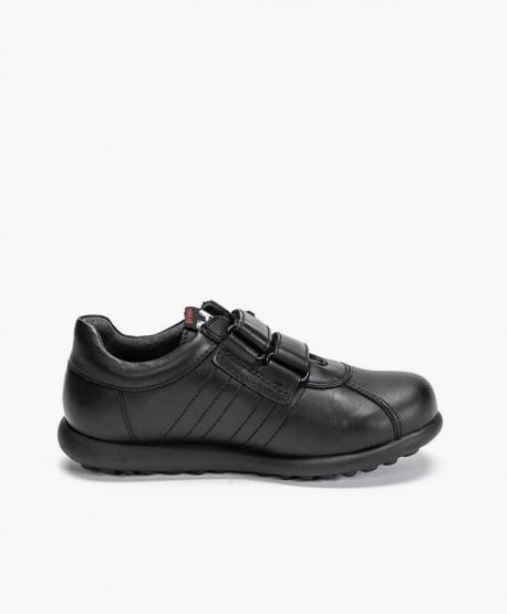 Zapatos Pelotas CAMPER Negro de Piel para Niño 3 en Kolekole