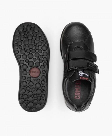 Zapatos Pelotas CAMPER Negro de Piel para Niño