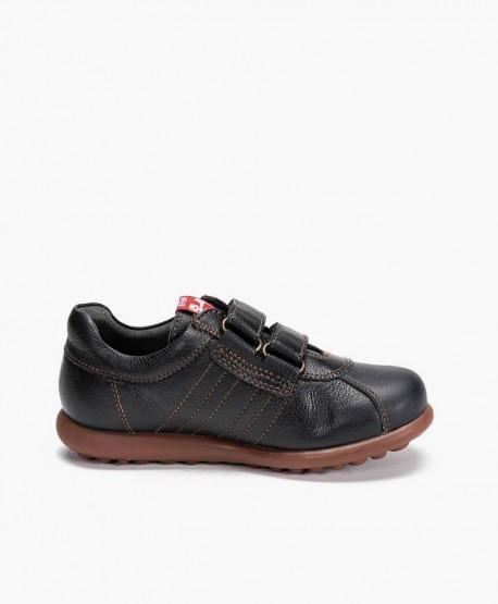Zapatos Pelotas CAMPER Azul Marino de Piel para Niño 3 en Kolekole