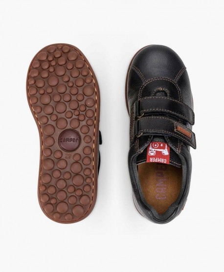Zapatos Pelotas CAMPER Azul Marino de Piel para Niño 0 en Kolekole