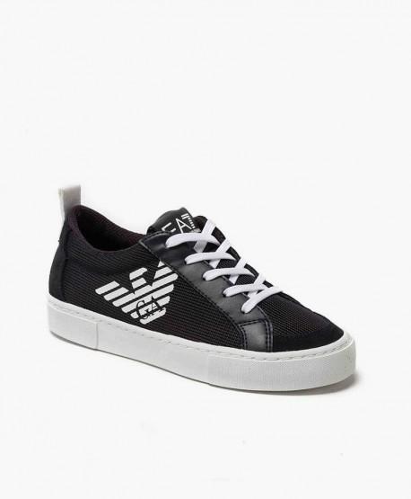 Sneakers EMPORIO ARMANI Azul Marino Piel Chica y Chico 0