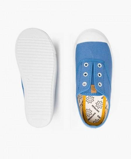 Zapatillas PETALOUS Azules Olor Limón Niña y Niño