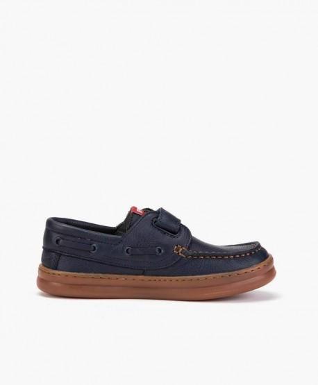 Zapatos Casual CAMPER Azul Marino con Velcro para Niño 2 en Kolekole