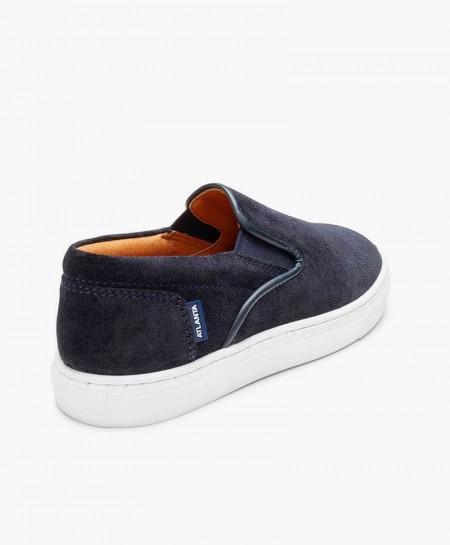 Zapatos Sport ATLANTA MOCASSIN Azul Marino Chico en Kolekole