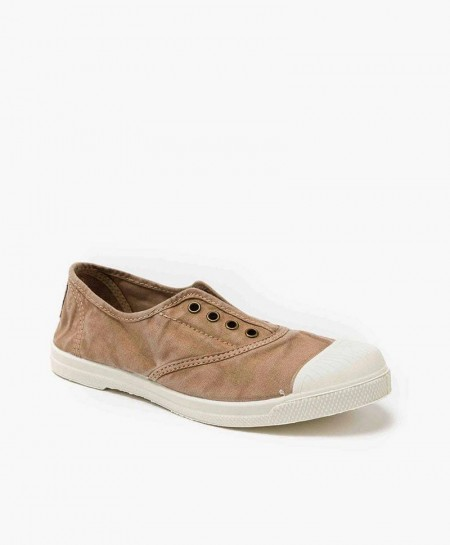 Zapatillas NATURAL WORLD de Lona Beige para Chicos