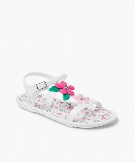 ee73ac15d ▷ Igor Sandalia Floral Tricia Blanca por solo 17.95 €