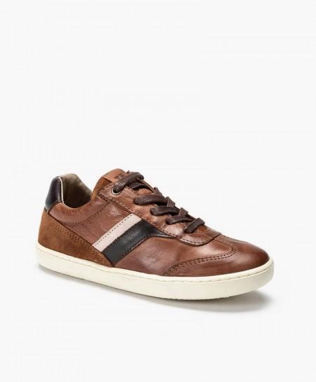 Telyoh Sneaker Marrón Piel Chico