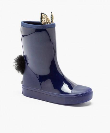 Botas de Agua LEMON JELLY Azules para Niña 0 en Kolekole