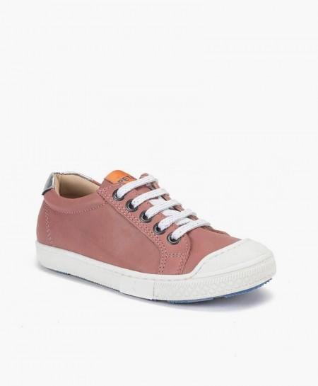Zapatos Sport PETASIL Rosa Palo de Piel para Chicos