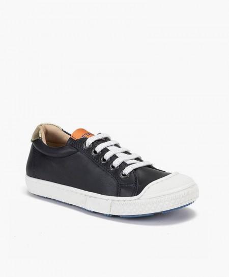 Zapatos Sport PETASIL Azul Marino de Piel para Chicos