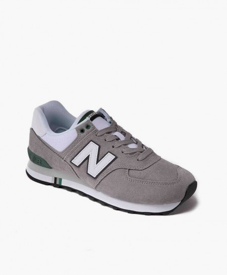 New Balance Zapatilla Gris Lifestyle Chicos