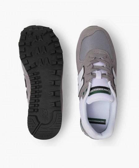 Zapatillas NEW BALANCE Gris Chica y Chico