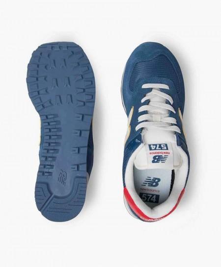 Zapatillas NEW BALANCE Azul Chica y Chico