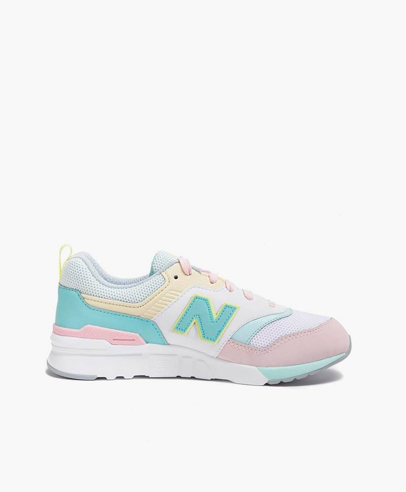 new balance chica grises