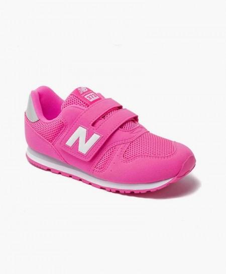 New Balance Zapatilla Rosa Velcro Lifestyle Niña