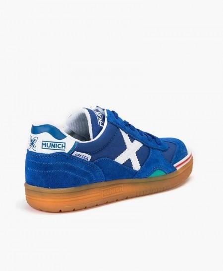 Zapatillas MUNICH Azules Gresca Chica y Chico