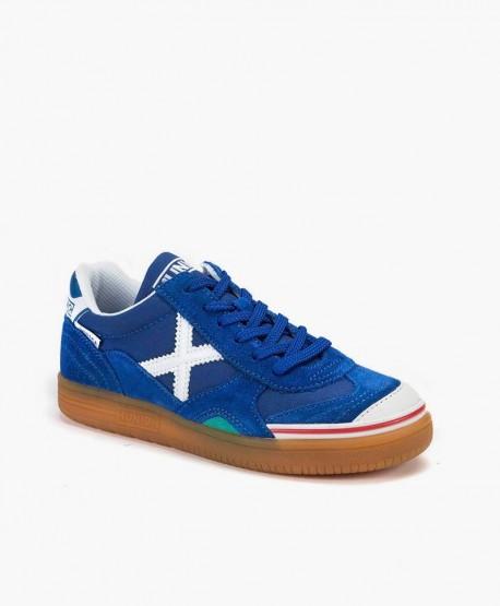 Zapatillas MUNICH Azules Gresca para Chicos 0 en Kolekole