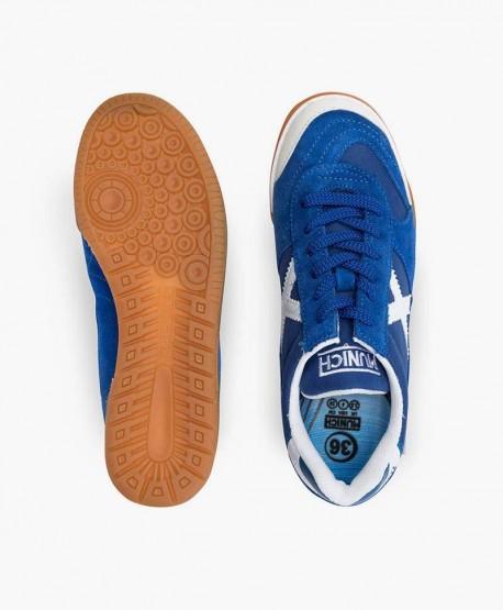 Zapatillas MUNICH Azules Gresca para Chicos 3 en Kolekole