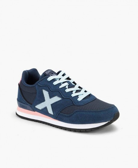Sneakers MUNICH Azules Dash para Chicos 0