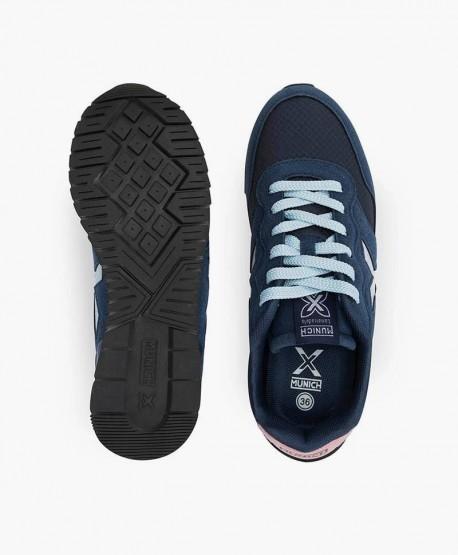 Munich Sneaker Azul Dash Cordones Jóvenes en Kolekole