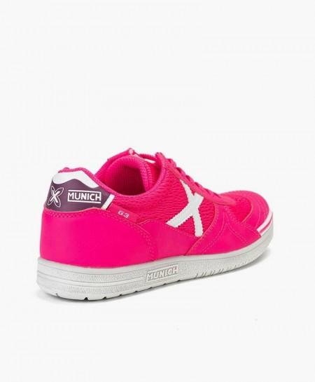 Zapatillas MUNICH Rosa para Chica y Mujer