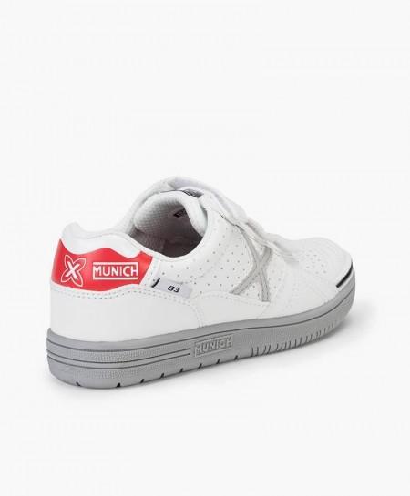 Zapatillas MUNICH Blancas G3 Profit Niña y Niño