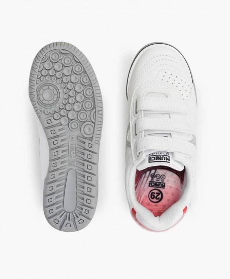 Zapatillas MUNICH Blancas G3 Profit Niña y Niño 3 en Kolekole