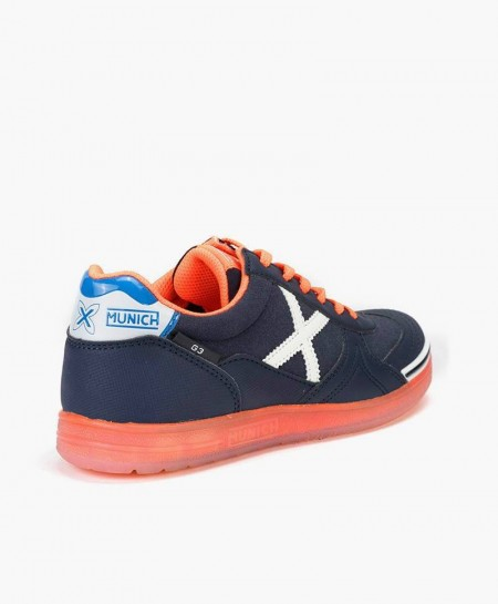 Zapatillas MUNICH Azul Marino G3 Glow para Chicos 1 en Kolekole