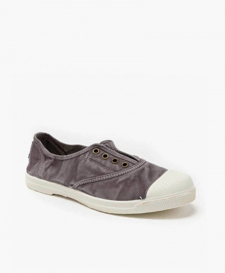 Zapatillas NATURAL WORLD de Lona Gris para Chicos