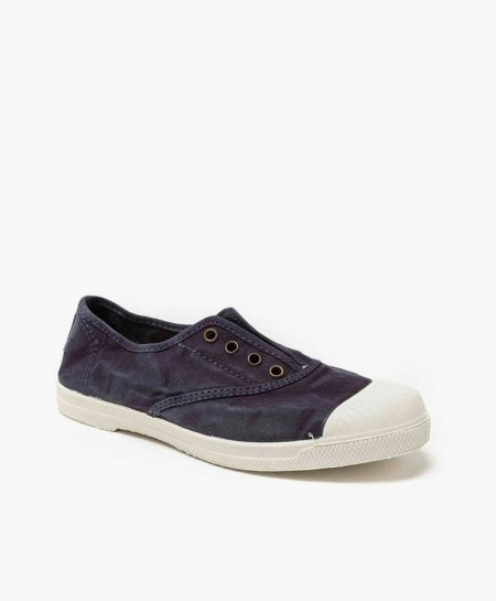 Zapatillas NATURAL WORLD de Lona Azul Marino para Chicos