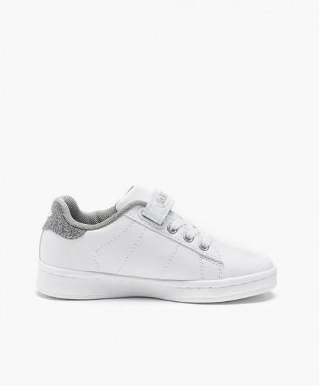 Sneakers LELLI KELLY Blancos y Plata con Tachuelas para Niña en Kolekole
