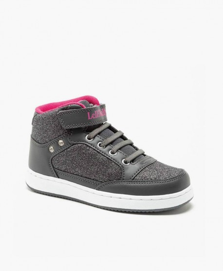 Lelli Kelly Botín Sneakers Gris Niña en Kolekole
