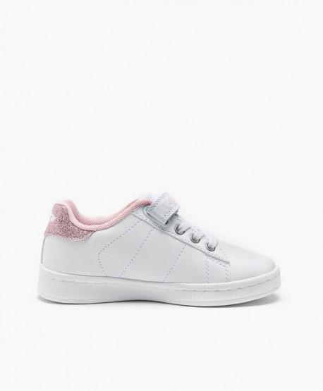 Sneakers LELLI KELLY Blanco Rosa y Tachuelas para Chica 2 en Kolekole