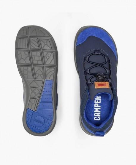 Sneakers CAMPER Azul Piel Ante Niña y Niño 0 en Kolekole