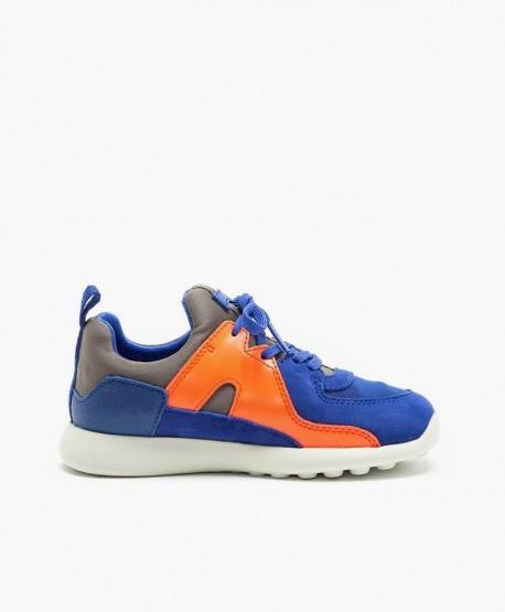 Sneakers CAMPER Azul Naranja Niña y Niño 3 en Kolekole