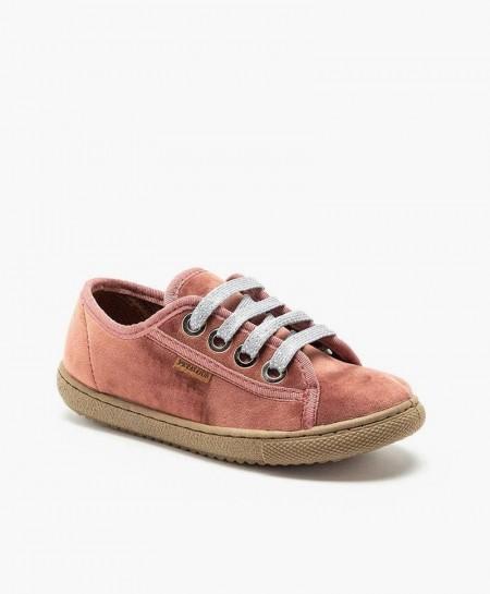 Zapatos Blúcher PETALOUS  Piel Olor Miel Niña y Niño