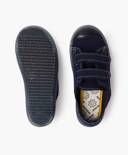Zapatillas PETALOUS Azul Marino Olor Limón Niña y Niño
