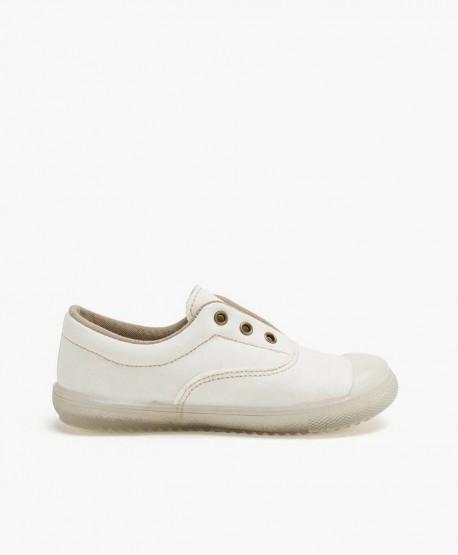 Zapatillas PETALOUS Blancas Olor Limón Niña Niño 3 en Kolekole
